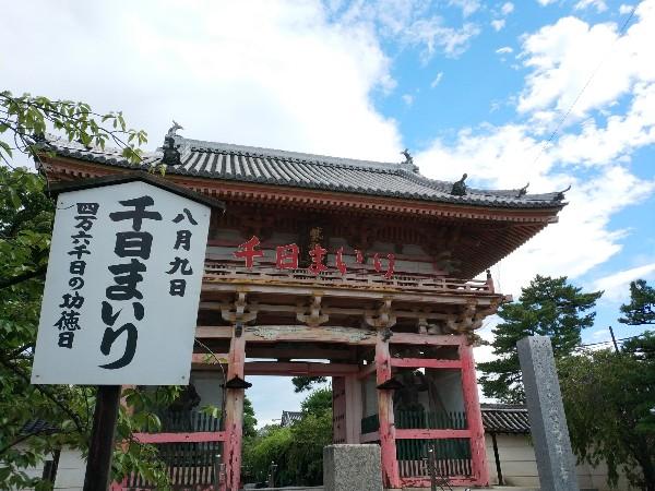 葛井寺の千日まいり