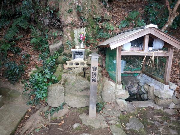 腰神神社の湧き水