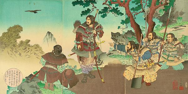 神武天皇東征之図