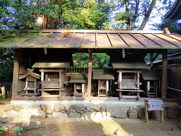 蟹井神社の摂社