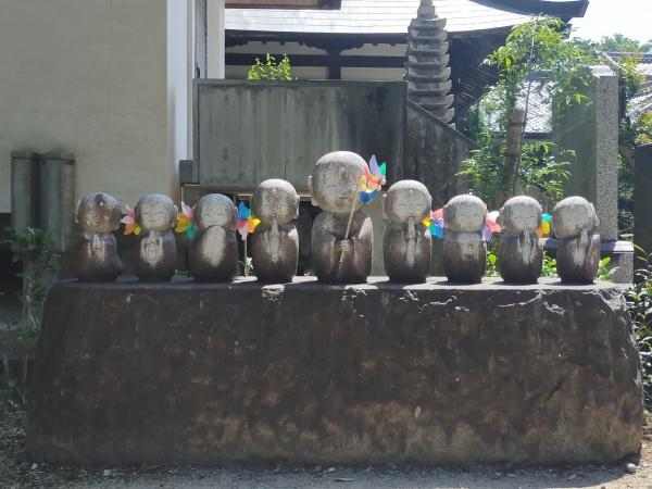 興禅寺の石像