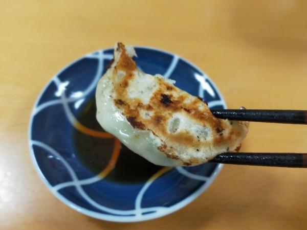 餃子の雪松・羽曳野店の餃子