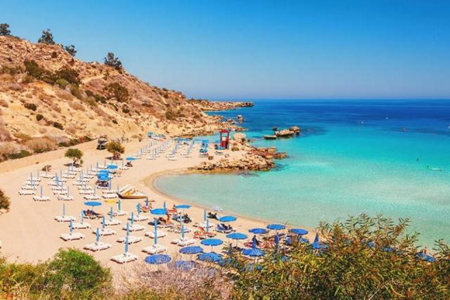 Пляжи Айя-Напа, Кипр