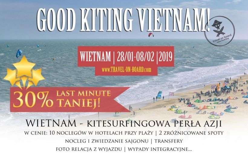 wyjazdy kitesurfing do Wietnamu oferta family dla rodziny 2019 kategoria premium travel on board