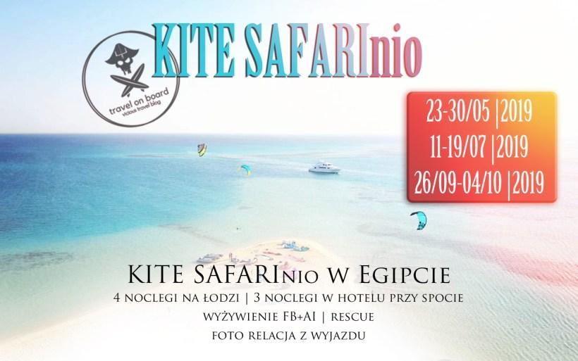 kite safari safarinio egipt wycieczka łodzią po wyspach kitesurfing