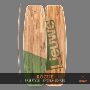 lieuwe rogue deska kite dla średnio zaawansowanych custom