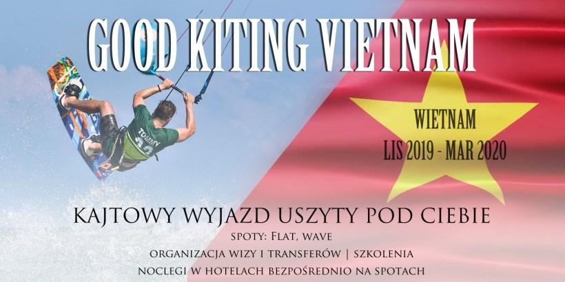 wietnam wyjazdy indywidualne na kajta kitesurfing