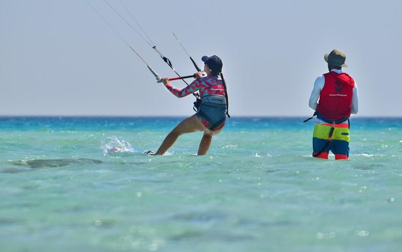 kursy szkolenia wyjazdy kitesurfing