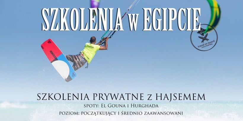 kitesurfing egipt el gouna hurgada szkolenia kursy