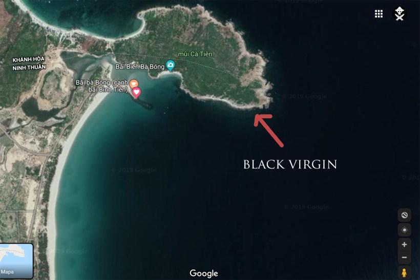 black virgin surf spot map vietnam