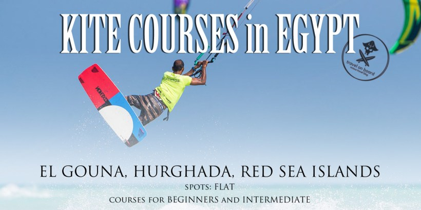 kitesurfing courses egypt el gouna hurghada red sea islands