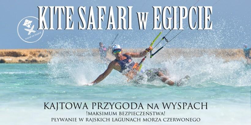 kitsurfing safari wyspy egipt