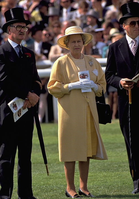 Queen Elizabeth II's annual Derby Day appearance.