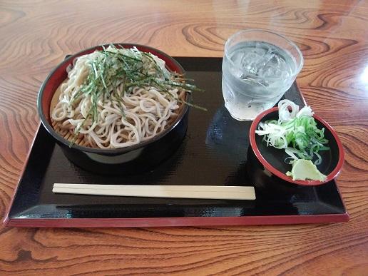 大菩薩の湯 ざる蕎麦