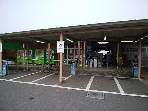 道の駅木更津 うまくたの里 二輪車駐車スペース