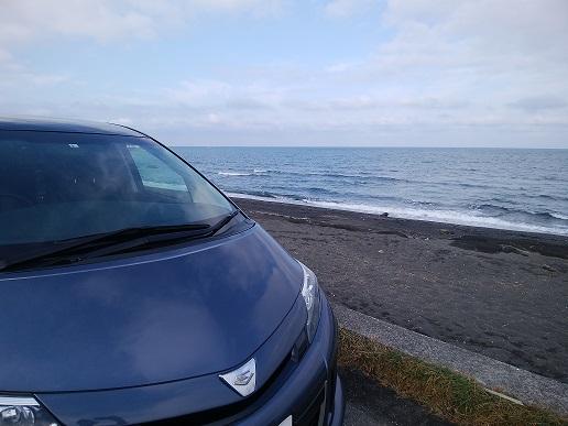 見物海岸 駐車場