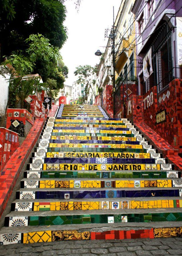 Escadaria Selaron 2