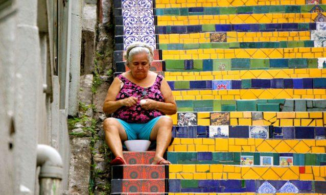 Jorge Selarón's tribute to the Brazilian people: The Escadaria Selarón
