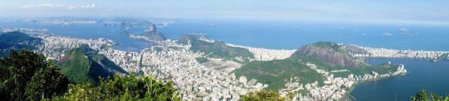 Rio de Janeiro from up above