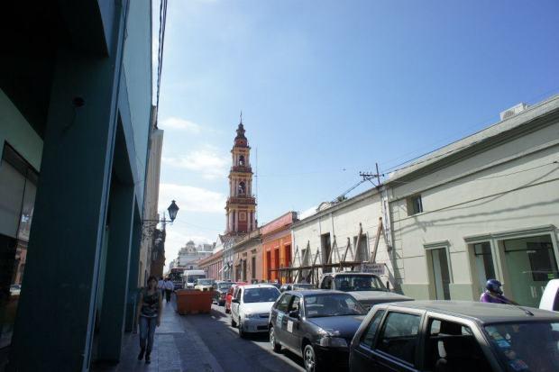 Quiet Salta Streets