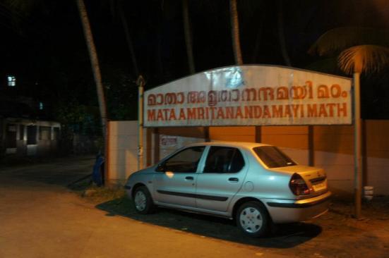 Arriving at Amritrapuri