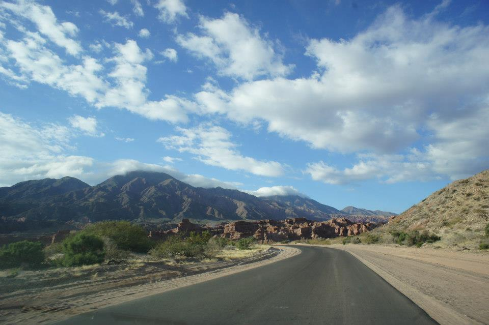 On the road back to Cafayate