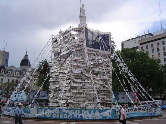 Photos of the Desaparecidos in Plaza de Mayo (public domain photo)