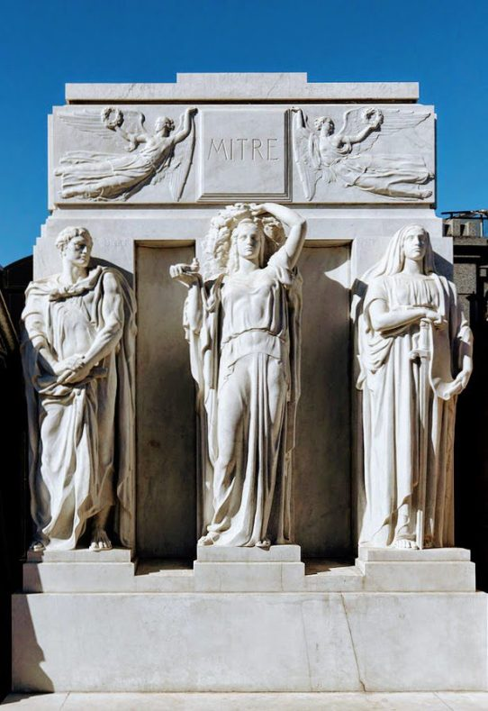 Tomb of Bartolomé Mitre by Barcex [CC BY-SA 3.0]