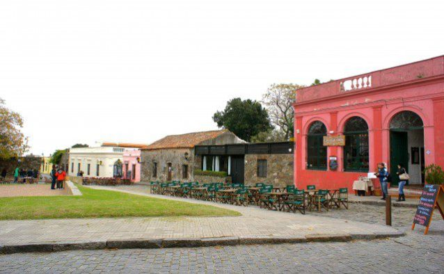 The deserted main square