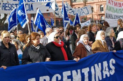 Mothers of the Plaza de Mayo Protest