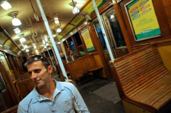 Riding the A Line subway
