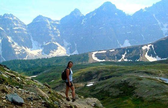 Hiking Sentinal Pass