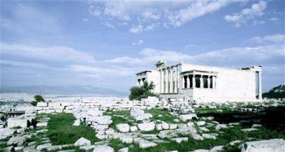 At the Parthenon
