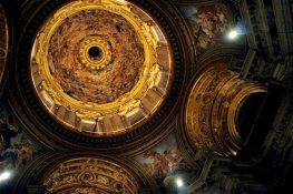 A stunning ceiling, Rome