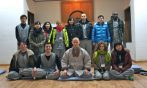 Our meditation group