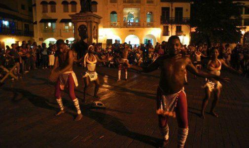 Dance performances inside Cartagena