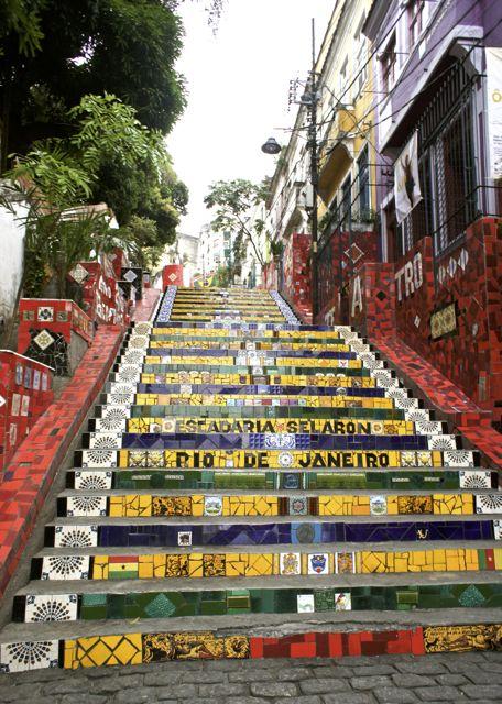 The Escardaria Selaron, Rio