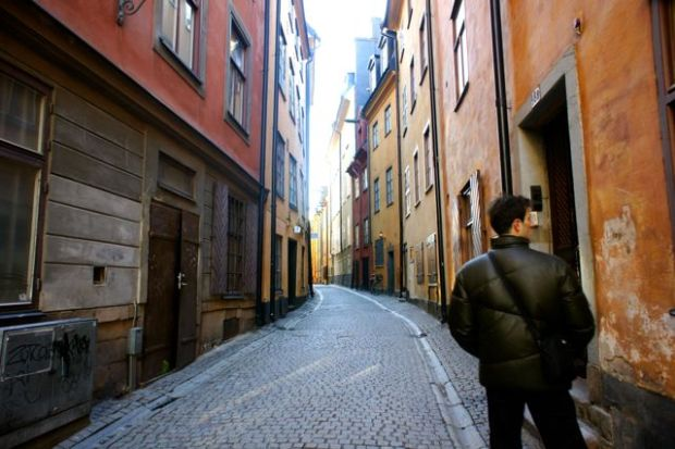 Strolling around Gamla Stan