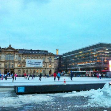 Ice skating and Olympic Hockey