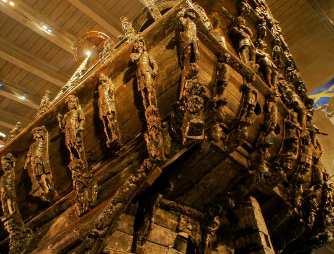 swedish warship vasa carvings
