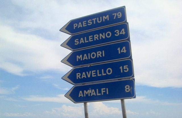 Halfway done - almost to Amalfi