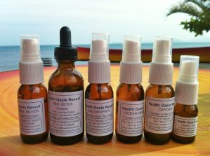 Detox herbs and sprays