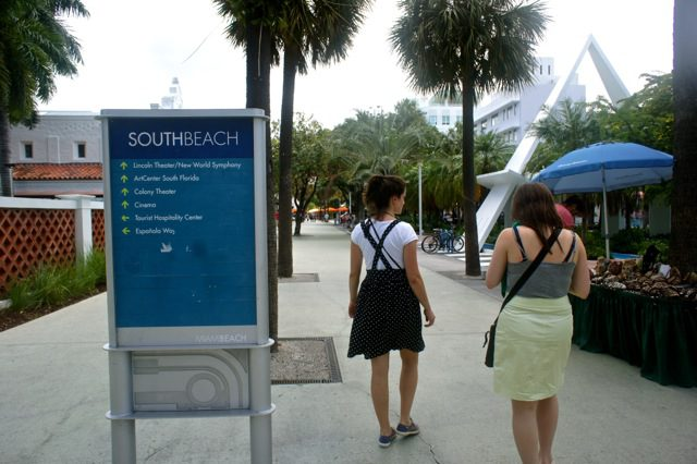 On our way to South Beach