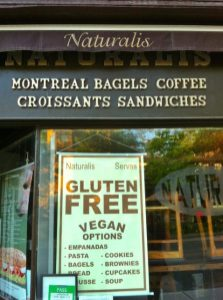 Gluten-free! Vegan choices!