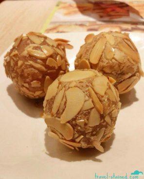 Taro chicken ball thingy