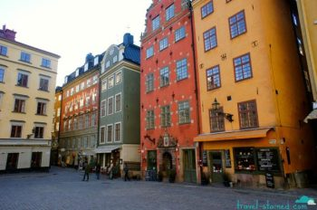 We spent a lot of time walking around Gamla Stan