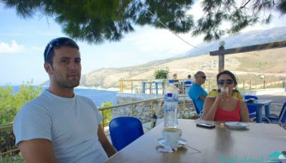Albanian friends and waters
