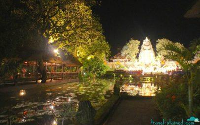 Saraswati by night