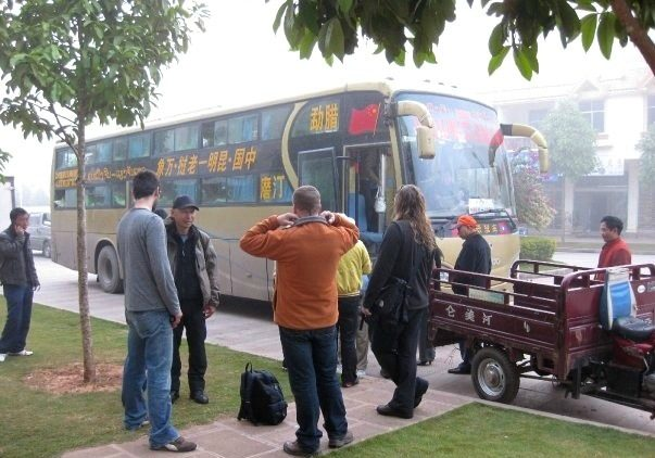 chinese sleeper bus