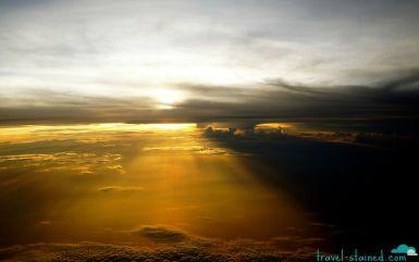 A perfect Thai sunset